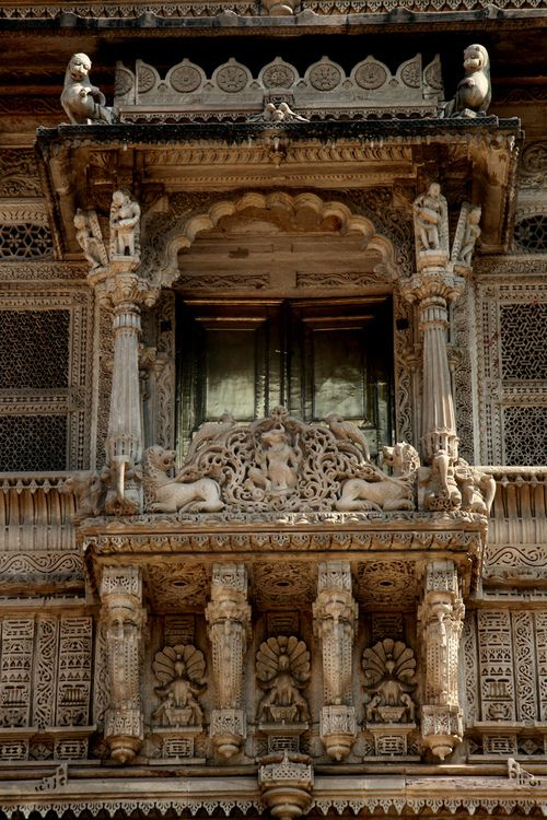 intricate architecture in India