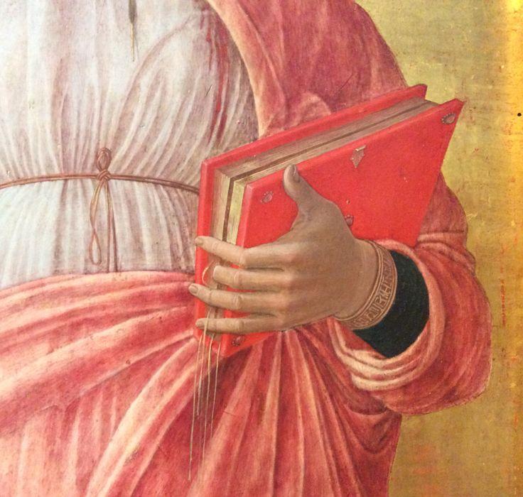 Andrea Mantegna, Santa Giustina (dettaglio dal Polittico di San Luca)