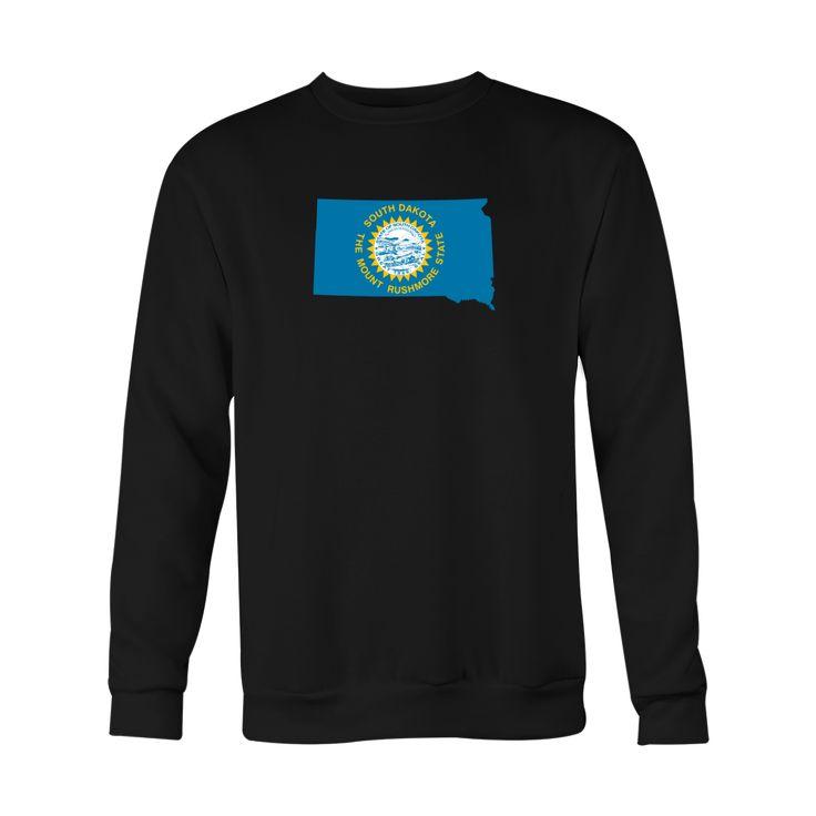 *HOLIDAY SPECIAL* South Dakota Flag Crewneck Sweatshirt