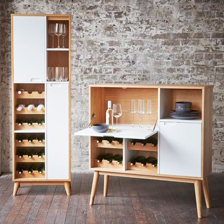 Bacchus Wine Storage High - in Natural was $699, NOW $339 #freedomautumnsale