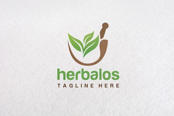 Premium Herbal Logo Concept V1 by Design Studio Pro on @creativemarket