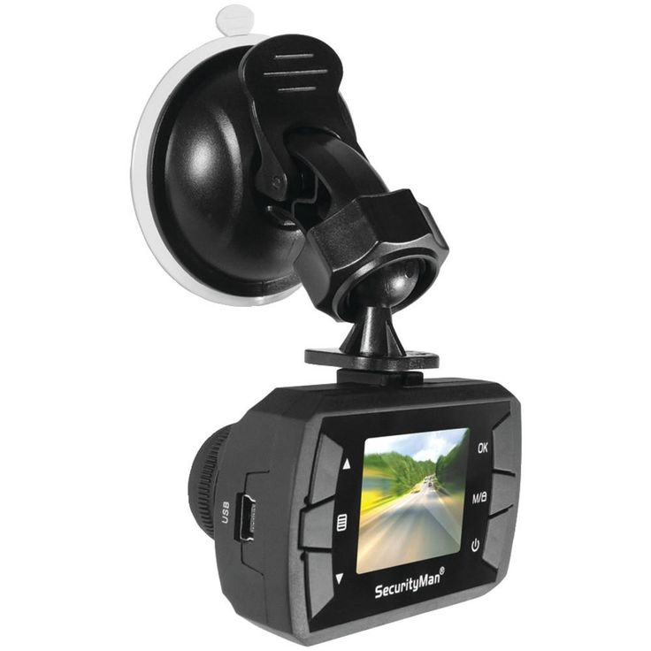 Securityman Micro Hd Car Camera Recorder With Built-in Impact Sensor