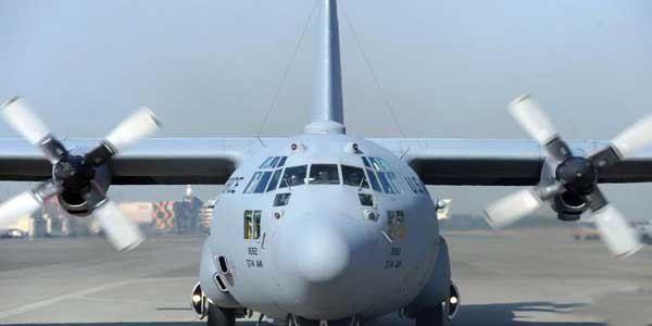 11 killed in a US C-130J military plane crash