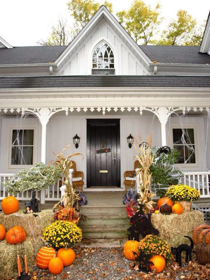 all things shabby and beautiful outdoor halloween decorationshalloween - Beautiful Halloween Decorations