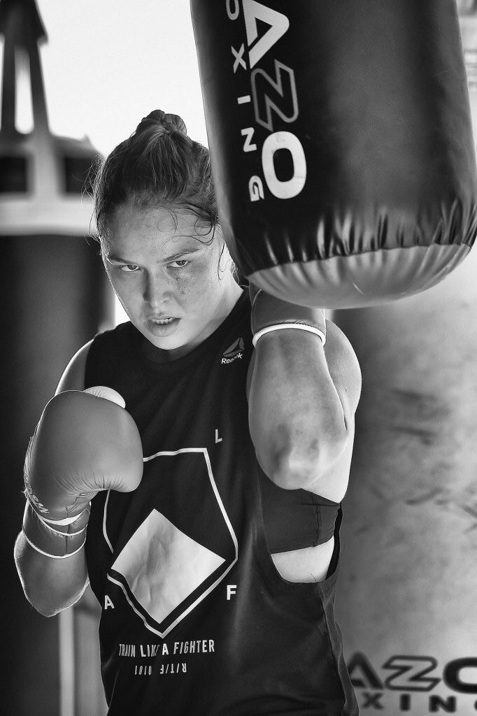 Ronda Rousey — UFC 193 training