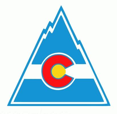 Colorado Rockies 1980-81 hockey logo of the NHL