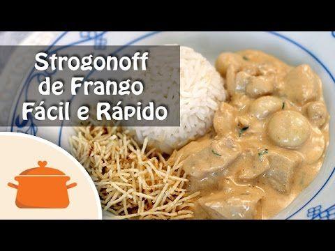 Strogonoff de Frango Fácil e Rápido - YouTube