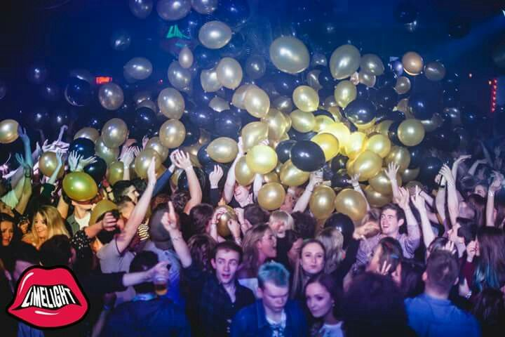 Balloon drop for Limelight for 39 th birthday