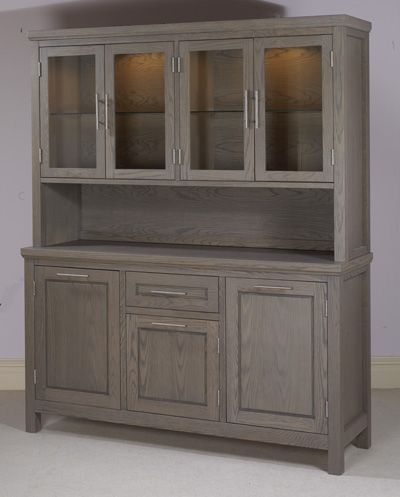 Grey Stained Oak Colored Kitchen Cabinets Pinterest