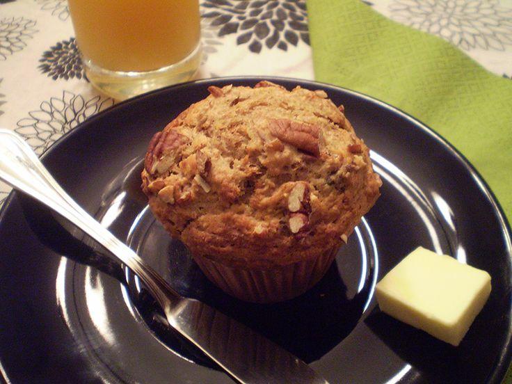 Muffins bananes et #dattes #recettesduqc #banane #muffin