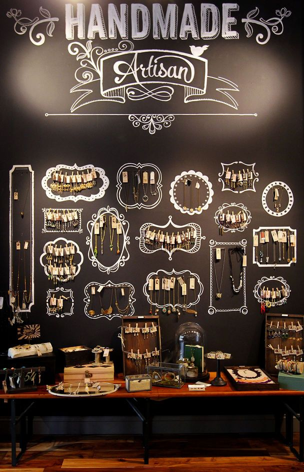 jewelry wall display