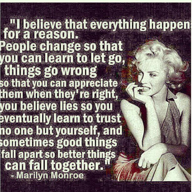 Marilyn Monroe Quotes Better Things Can Fall Together: 106 Best Images About Marilyn Monroe On Pinterest