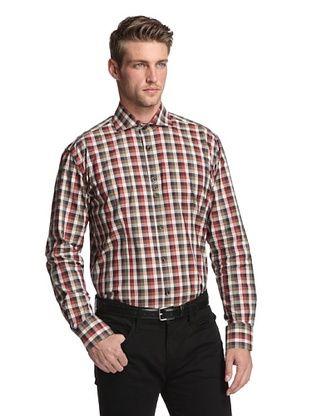 BG Men's Long Sleeve Bello Plaid Shirt