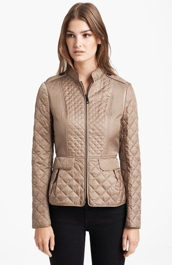 Burberry London Quilted Jacket available at #Nordstrom