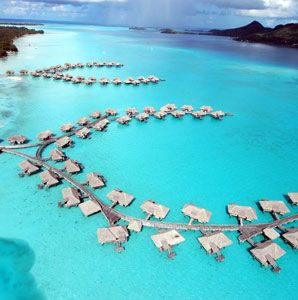 intercontinental thalasso resort — bora bora