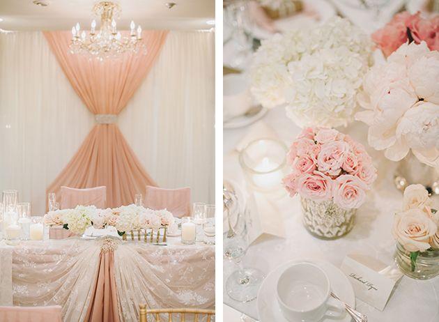 155 best Romantic pink wedding ideas images on Pinterest | Wedding ...