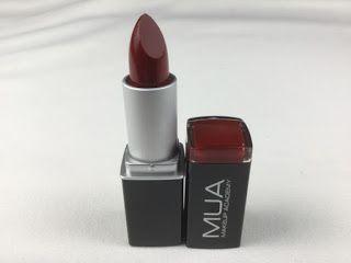 Review: MUA (Makeup Academy Professional) Color Intense Lipstick 262 Pomegranate