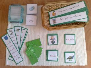 La série verte Montessori | Familyandco