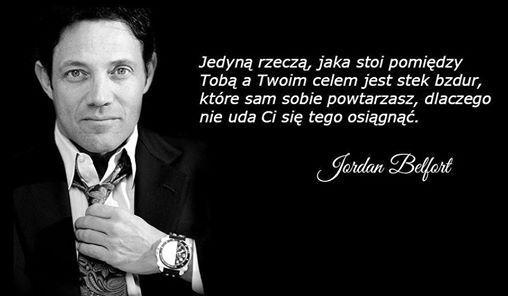 Jordan Belfort, czyli Wilk z Wall Street