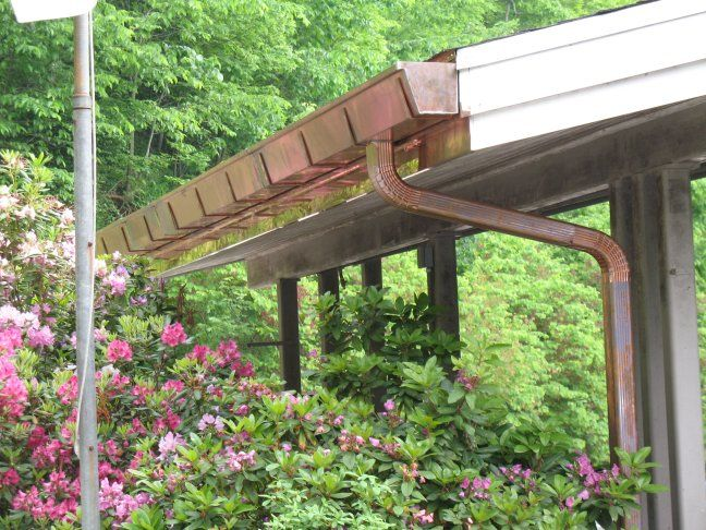Copper Gutters Modular Homes Copper Gutters Outdoor