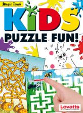 Junior puzzlers will enjoy hours of quality entertainment with the first issue of Kids Puzzle Fun! This interactive book features 'Magic Touch' drawing tools, allowing kids to solve the puzzles by using their finger as a pen. Magic Touch unites the tactile feel of a printed book with a superior digital format, resulting in a more natural, intuitive experience.  https://itunes.apple.com/au/book/kids-puzzle-fun-1/id588942489?mt=11