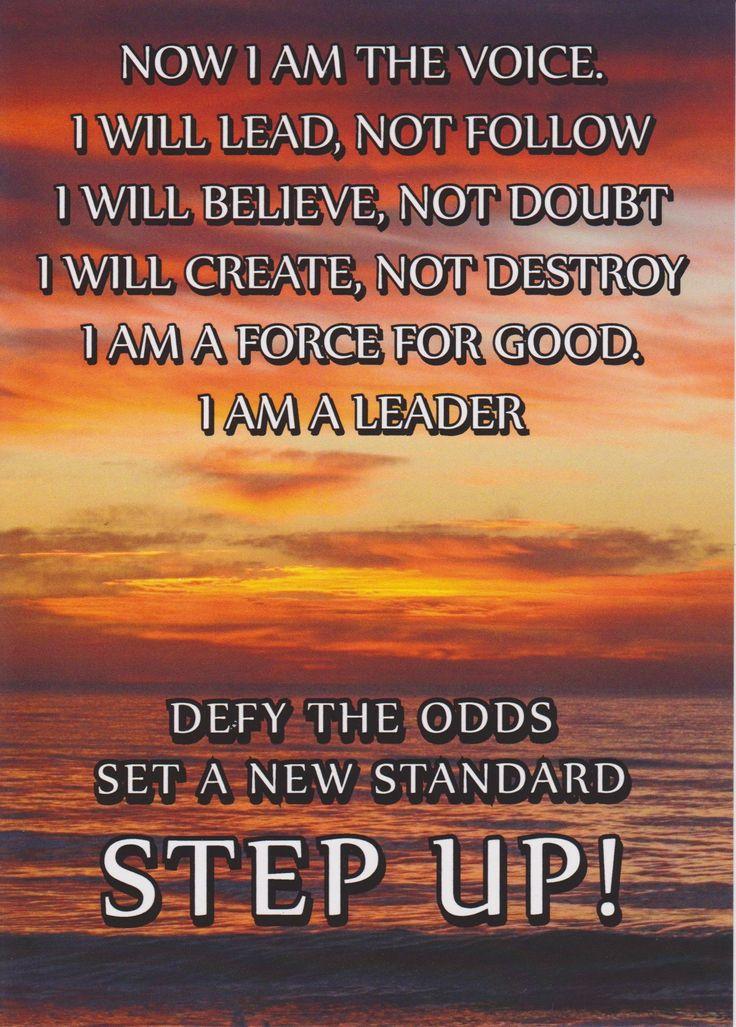 Now I am the voice - Tony Robbins
