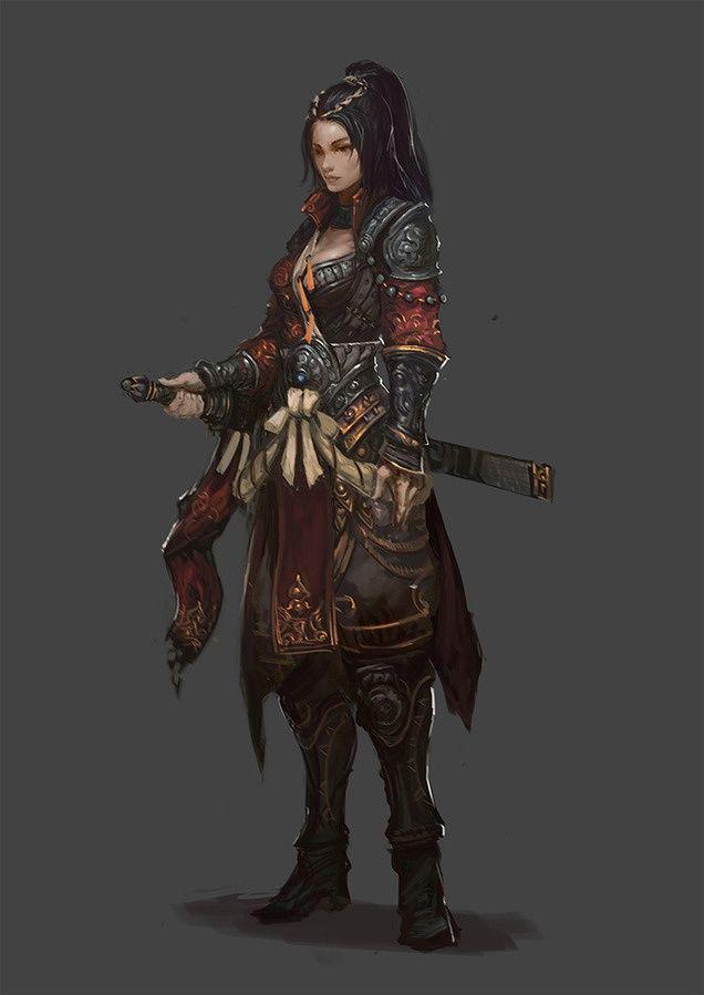 "sekigan: "" (1) Female armor | ScartoonG | Pinterest """