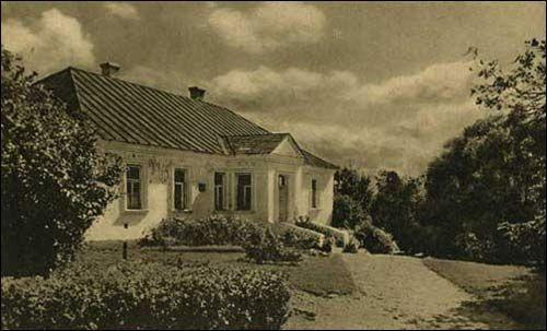 Dworek Mickiewiczów, pocztówka z lat 30 XX w
