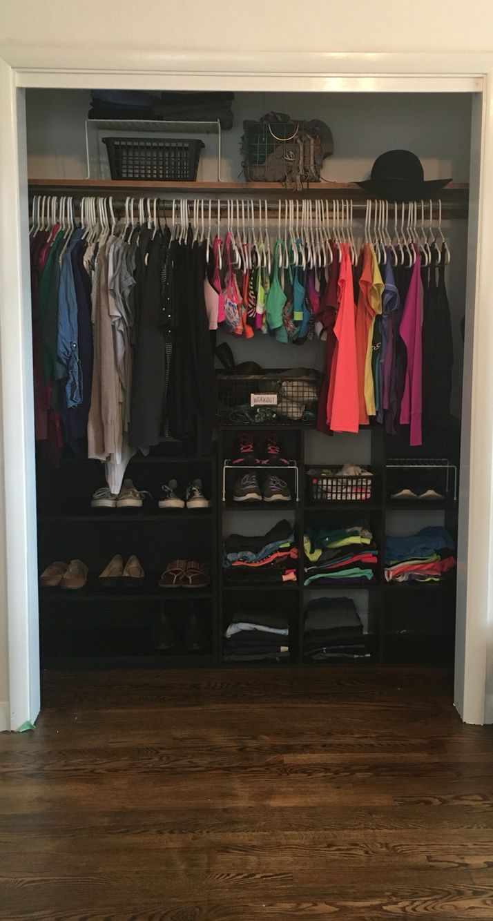 25 best ideas about apartment closet organization on