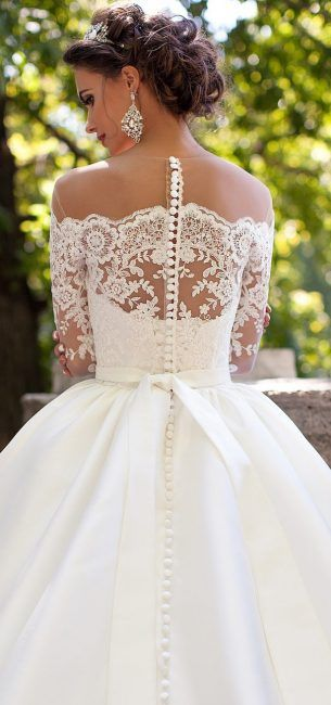 The buttons at the top above the lace look ridiculous!