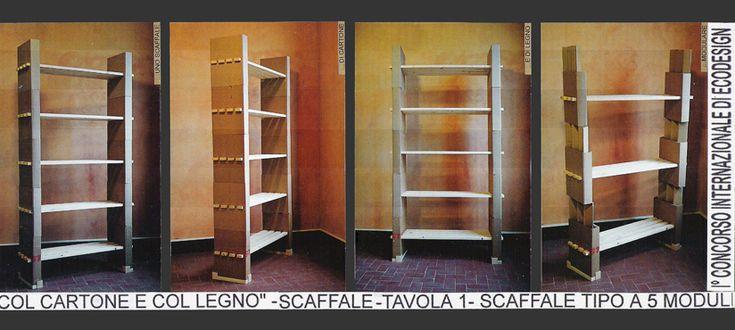Giuliano Lovati - Various design - Mobili di cartone