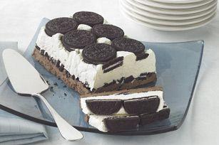 Cookies & Cream Freeze recipe #kraftrecipes