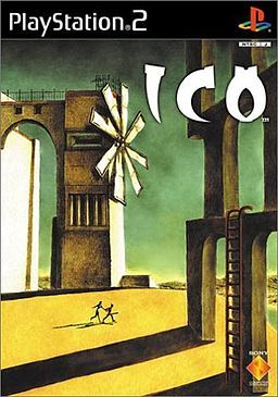 ICO get it's place among the best cover art in game history for me because of it's reference to De Chirico art.
