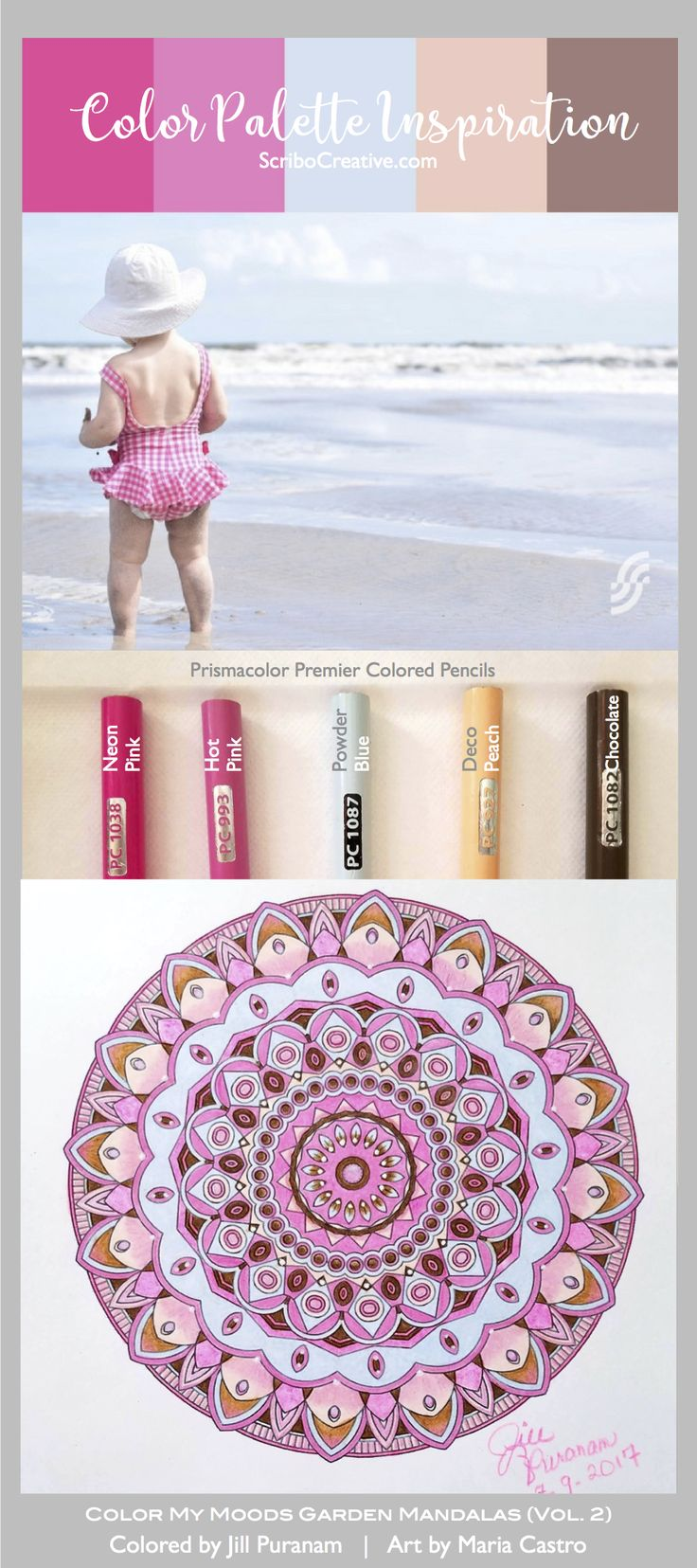 18 Best Color Palette Inspiration By ScriboCreative Images On Pinterest