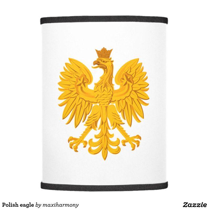 Polish eagle lamp shade
