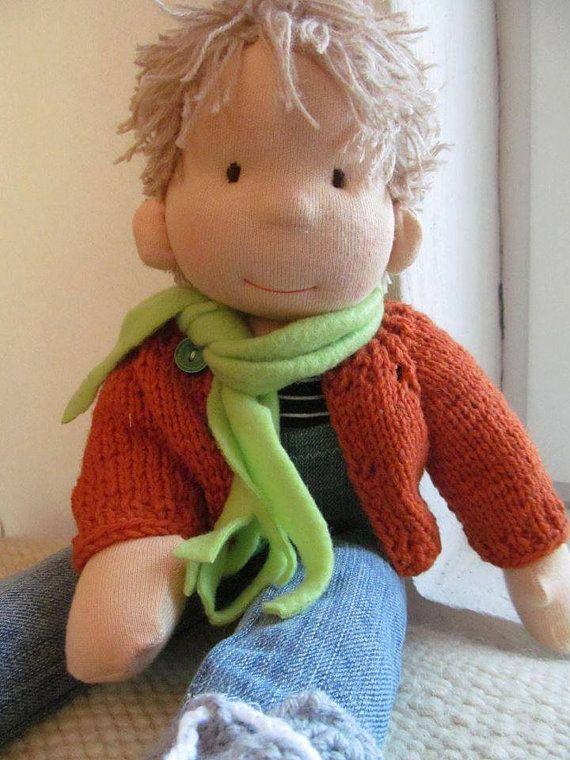 Waldorf Puppe Stoffpuppe Steiner-Puppe Anzahlung 50Usd von bemka