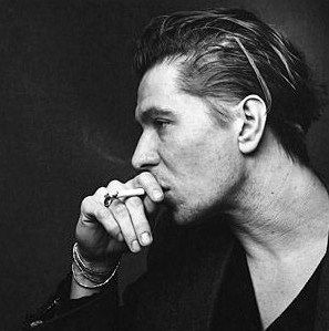 Gary Oldman. Actor. His intensity and understanding of his characters is something I hope to one day achieve.