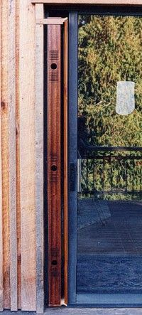 How to Build Wind Harps | door harps sliding glass are similar to window harps but have a 6 ...