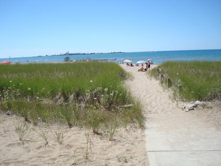 Southampton, Ontario Beach -- Our Favourite