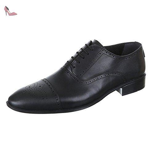 Ital-Design , Chaussures professionnelles homme - Noir - Noir, 42 - Chaussures ital design (*Partner-Link)