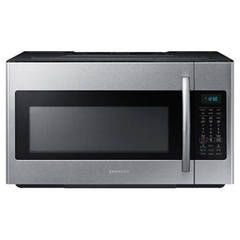 Samsung 1.8 Cu. Ft. Over-The-Range Microwave - Stainless Steel | PCRichard.com | ME18H704SFS