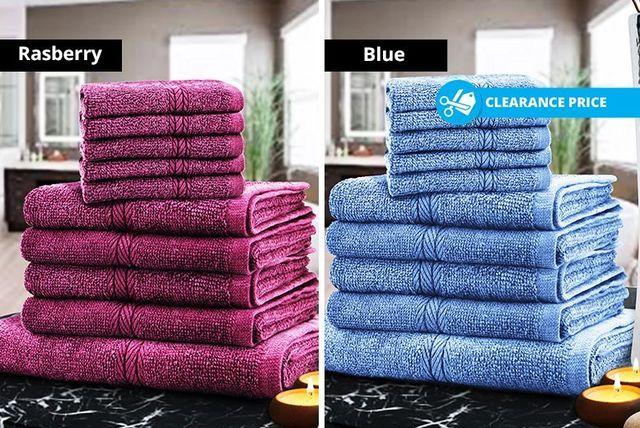 Egyptian Cotton Towels- 8 Colours!
