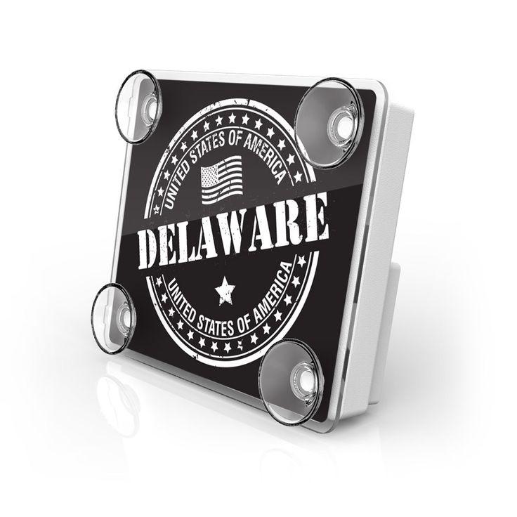 Large Toll Pass / EZ Pass / Transponder Holder - Delaware State