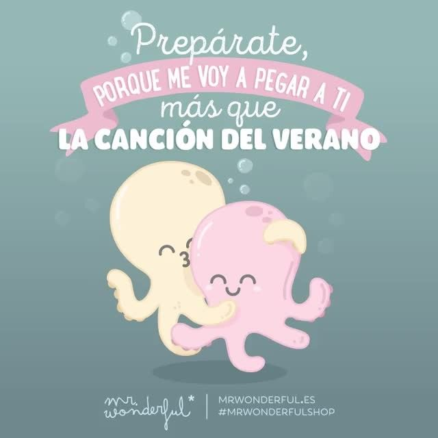 De tu calorcete me enamoré, me ena-ena-namoré  #mrwonderfulshop #felizsábado Watch out, because I am going to stick to you stronger than superglue. It is your warmth that makes me hot.