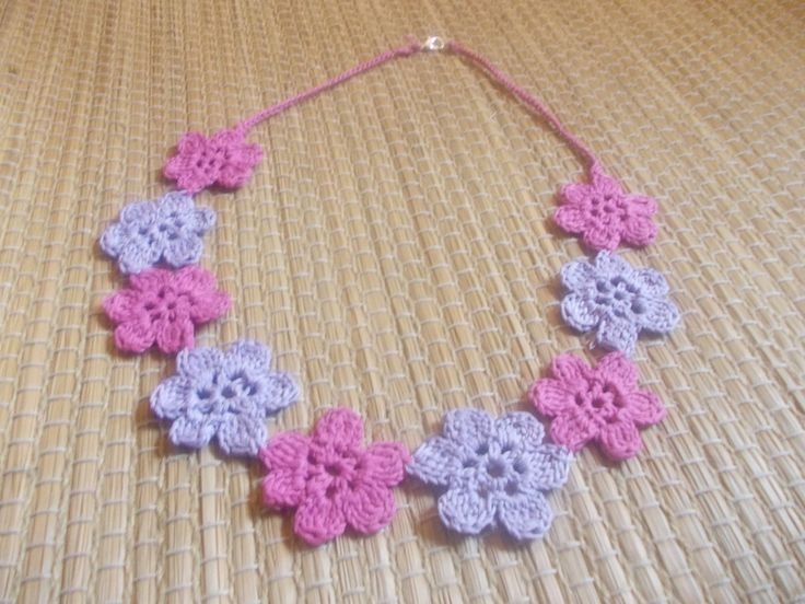 Collana con Fiori di All of My Likes su DaWanda.com