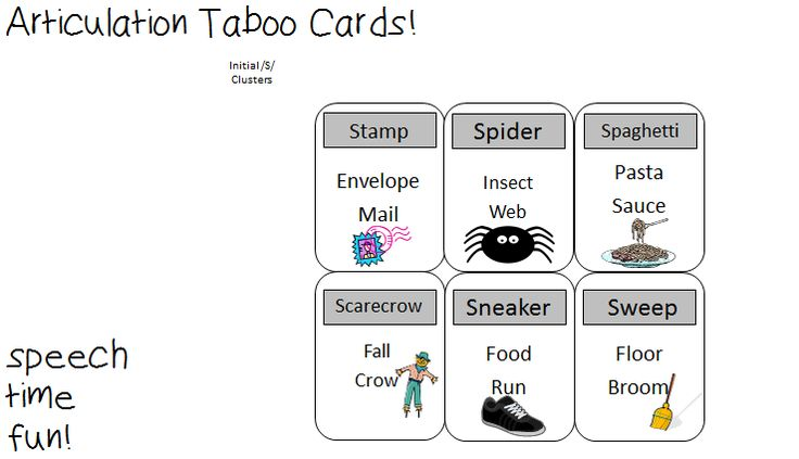 "Use these fun cards with the popular board game, <a href=""http://www.amazon.com/Hasbro-40364-Taboo-For-Kids/dp/B0006B4C0M/ref=sr_1_3?ie=UTF8&qid=135 ..."