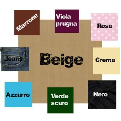 color sabbia abbinamenti moda - Cerca con Google