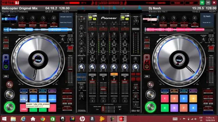 Pioneer DDJ-SZ Skin para virtual dj 7 y 8 free download.