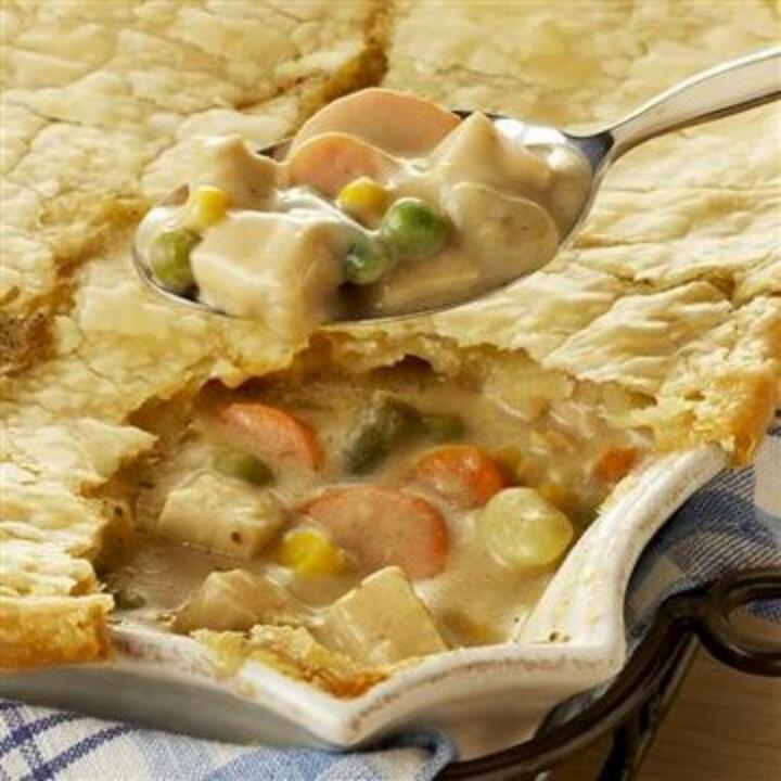 Turkey Potpies Recipe: Turkey Pot Pie
