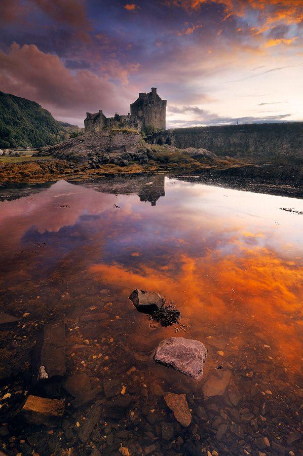 Castle in the Sky by Alberto Segramora, via 500px